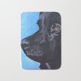 Black Lab Bath Mat