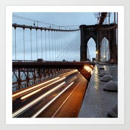 Good Morning New York 2 Art Print