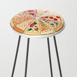 Feast of St. Pizza: Lebanon Edition Counter Stool