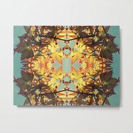 Amber Reef Metal Print