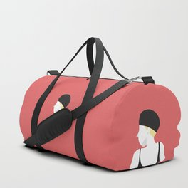 Swim in the red wine Duffle Bag