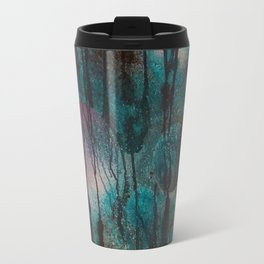 Blue spheres and tears V Travel Mug
