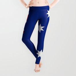 Flag of Australia - Authentic High Quality image Leggings