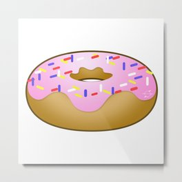Totally Baked - Sprinkled Metal Print