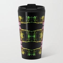 Alien Mask Metal Travel Mug