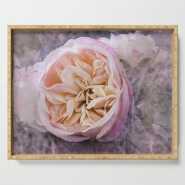 Peony Rose Serving Tray