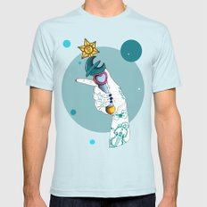 Neptune LARGE Light Blue Mens Fitted Tee
