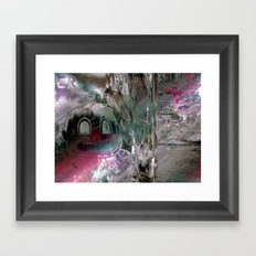 Diverge a settlements thirst. Framed Art Print