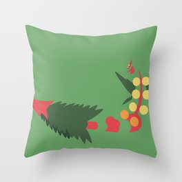 Mega Sceptile Throw Pillow