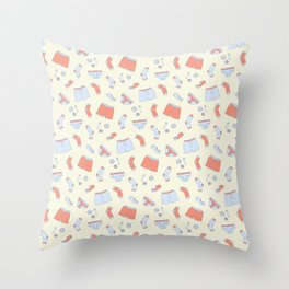 Lost in the Dryer Throw Pillow