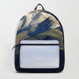 Ojai Valley With Snow Backpack