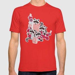 Hygge raccoon T-shirt