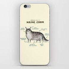 Anatomy of a Maine Coon iPhone & iPod Skin