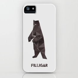 Filligar Bearsville iPhone Case