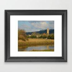 River Taw Framed Art Print