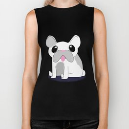 Frenchie Biker Tank