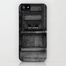 Saint Germain iPhone Case