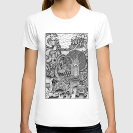 dreaming forest T-shirt