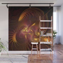 Coming Home, Abstract Fantasy Fractal Art Wall Mural