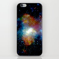 milky way iPhone & iPod Skins featuring Milky Way by Upperleft Studios