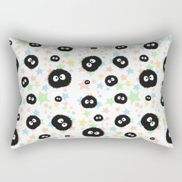 Soot Sprite with stars Rectangular Pillow