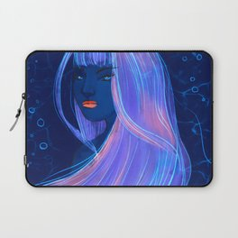 Stare, Mermaid, Mythical, Mysterious, Underwater Laptop Sleeve