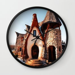 Buna Ziua.  Wall Clock