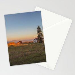 Curious Farmstead, North Dakota 1 Stationery Cards