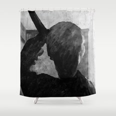 Psycho shower curtain Shower Curtain