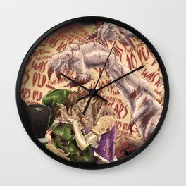 The Conjuring Wall Clock