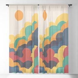 Cloud nine Sheer Curtain