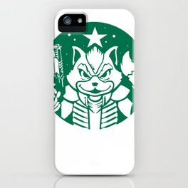Starfox Coffee iPhone Case
