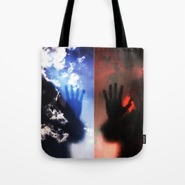 Touch (Series: 'Blessed') Tote Bag