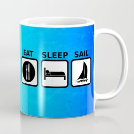 Eat Sleep Sail Coffee Mug
