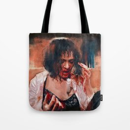 Adrenaline Shot - Mia Wallace - Pulp Fiction Tote Bag