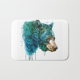 Bear Head Bath Mat