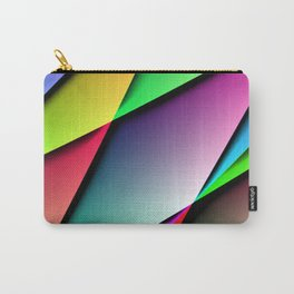 Triangle Gradient Colorful Design Carry-All Pouch