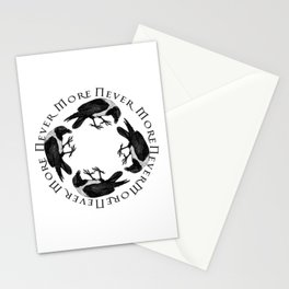 Raven Circle Never More Stationery Cards