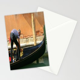 Wax On, Wax Off Stationery Cards