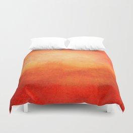 Crimson Dawn Duvet Cover