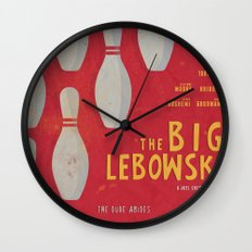 The Big Lebowski - Movie Poster Wall Clock