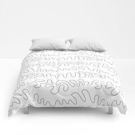 Sketch Waves  Comforters