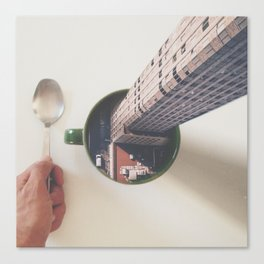 Evening breakfast with Supertramp Canvas Print