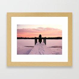 Throw Me Into the Lake.  Framed Art Print