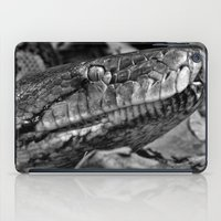 monty python iPad Cases featuring Hissing Sid - python - mono by PICSL8