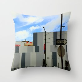 Right Off Target Throw Pillow
