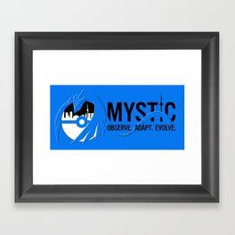 Team Mystic Toronto [1] [black text] Framed Art Print