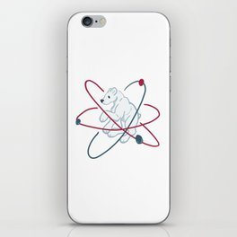 Polar (Bear) molecule iPhone Skin