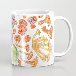 Wild Mushroom Rainbow Coffee Mug