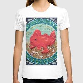 Endangered species: Red Handfish T-shirt